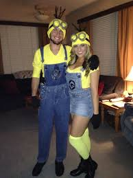 halloween costumes minion homemade couples halloween costume minions costumes