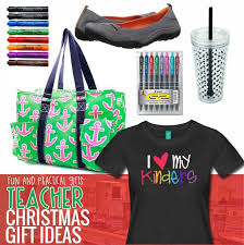 what the teacher really wants for christmas fun and practical