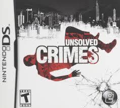 amazon com unsolved crimes nintendo ds video games