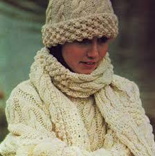 free aran stitch patterns vintage knitting pattern pdf aran