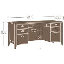 Shoal Creek Bedroom Furniture Shoal Creek Executive Desk Jamocha Wood 408920 Sauder