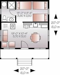 20x20 tiny home pdf floor plan 706 sq ft model 5a 20x20 house plans cool small house plan tiny home 1 bedrm 1 bath 400