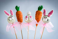 easter cakepops easter cake pops stock image image of easter bunnies 28829483