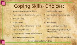 Coping Skills For Anxiety Worksheets Coping Skills Worksheet Stepping Stones
