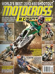motocross action 450 shootout the new mag what you are missing if you haven t seen the new