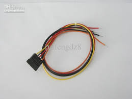 2017 cable assembly wire harness sata terminal and housing power