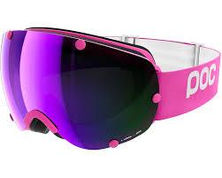 pink motocross goggles poc lobes ethylene pink grey purple mirror poc ski snowboard goggles