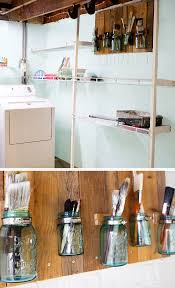 best ideas about unfinished basement storage pinterest best ideas about unfinished basement storage pinterest laundry room cheap and decorating