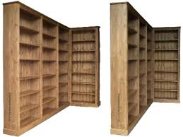 Bookcase Pine Bookcase 7 Ft High Bookcase Solid Pine Corner Bookcase 7ft X 8ft