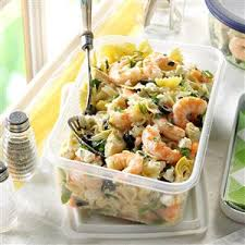 shrimp and artichoke casserole artichoke shrimp pasta salad recipe taste of home