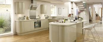 davis outlet kitchens gloss integrated handle kitchen