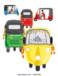 auto rickshaw cut out stock images u0026 pictures alamy