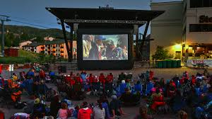 Backyard Movie Night Rental Movies On The Mountain