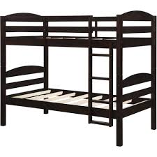 Bunk Bed With Futon On Bottom Furniture Metal Bunk Beds Twin Over Full With Steps Dorel Amazon