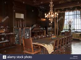 dining room of the braun menendez mansion magallanes regional