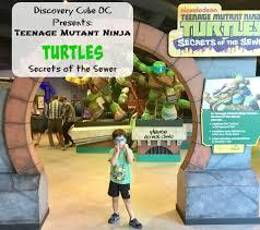 teenage mutant ninja turtles secrets of the sewer exhibit at