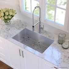 Undermount Kitchen Sink Stainless Steel Kraus Handmade Stainless Steel 16 30 X 18 Undermount