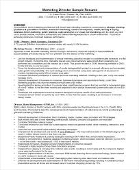 Sales And Marketing Manager Resume Examples by Manager Resume Sample Templates 43 Free Word Pdf Documents
