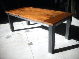 custom made farm tables farmhouse table with metal legs custom made dining table and benches