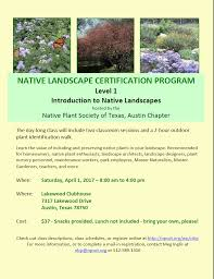 texas native plants austin chapter austin chapter