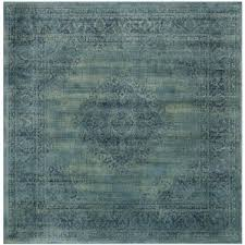 Teal And Green Rug Square Rugs You U0027ll Love Wayfair