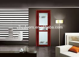 Frosted Glass Bathroom Doors by Luxury White Color Decorated Aluminum Frame Interior Frosted Glass
