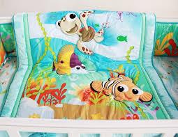 Nursery Cot Bedding Sets 8 Pieces Crib Baby Bedding Set Finding Nemo Baby Nursery Cot
