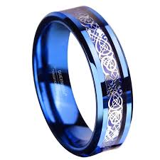 blue wedding rings wedding ideas amazing mens inlay wedding bands picture ideas