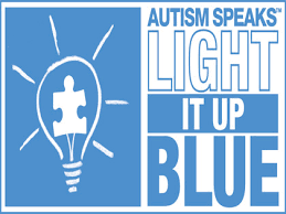 autism speaks light it up blue autism speaks raising awareness with light it up blue caign