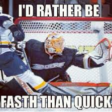 Anaheim Ducks Memes - this goalie and this meme is catching on with ducks fans fast