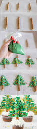 Christmas Tree Cake Decorations Ideas by Easy Christmas Tree Cupcakes Your Cup Of Cake