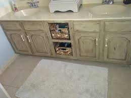 Painted Bathroom Cabinets by Bathroom Vanity Makeover With Annie Sloan Chalk Paint Bathroom