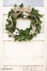christmas wreaths to make diy christmas wreath rustic bells crafts unleashed