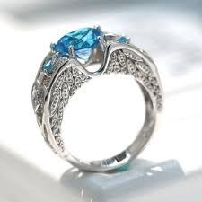 birthstone ring december birthstone ring thistle oak