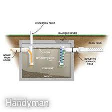 how does a septic tank work family handyman
