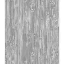 peel and stick vinyl wallpaper shop tempaper textured 56 sq ft pewter vinyl textured wood peel and