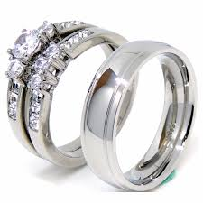 Wedding Rings Sets For Women by A Perfect Gift Of Jewelry Band Ring Wedding Ring Set For Women And