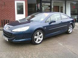 peugeot cars 2006 used peugeot 407 coupe 2 7 hdi v6 gt 2dr in crewe cheshire ian