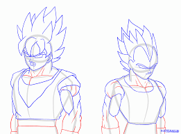 how to draw dragon ball z full body archives pencil drawing