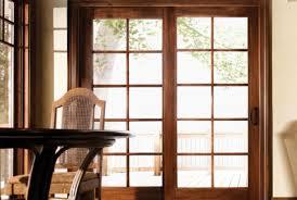 Wood Patio Door Sliding Wood Patio Doors Garagedoorsdenver Co