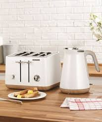 Morphy Richards Toaster Cream The Scandi White Aspect Kettle And 4 Slice Toaster From Morphy