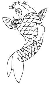 koi fish outline by severism on deviantart koi fish tattoo
