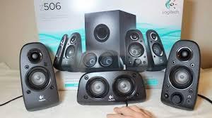 Dorm Room Sound System Logitech Z506 5 1 Surround Sound Speakers Review Youtube