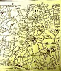 map uk coventry 1938 map of coventry city centre http www history ac uk