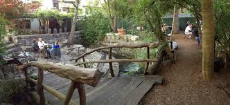 West Virginia travel voucher images The patio complete with a natural creek at blue moon cafe in jpg