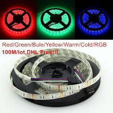 5050 smd 300 led strip light rgb 100mwaterproof ip65 300 led 5m 5050 smd single color flexible led