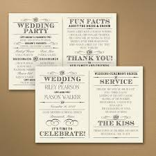 Wedding Program Paper Stock Lettering By Lynne Ceremony Programs