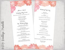 Wedding Bulletins Examples Diy Wedding Programs Paper Source Blog Paper Source Blog 10 Ideas