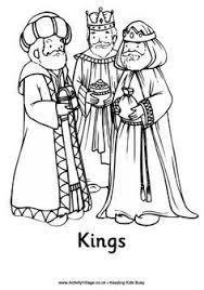wise men coloring los reyes
