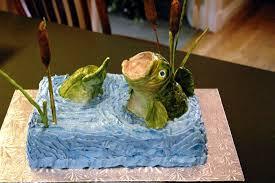 bass fish cake 3d novelty specialty cakes thatweddinggirl